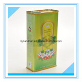 1.5L Metal Tinplate Cans for Packaging Olive Oil