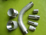 Stainless Steel Pipe Fitting Pipe Nipples Bsp Bend From Seamless Pipe