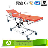 Professional Factory Stainless Steel Stretcher Trolley (CE/FDA/ISO)