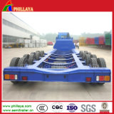4 Axles 80t Low Bed Heavy Truck