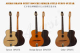 Aiersi Solid Top Oval Hole Gypsy Jazz Guitar (GP03T)