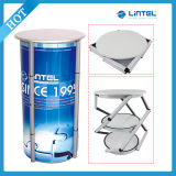 Exhibition Rotating Display Stand Reception Table