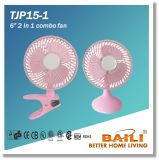 "6"" 2 in 1 Combo Fan with Copper Motor"