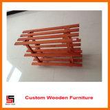 Knock Down Furniture Wooden Shoe Shelf