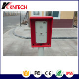 Outdoor Doorphone Knzd-45 Emergency IP Call Station with One Button