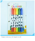 50g 5PCS Plastic Crayons for Students and Kids