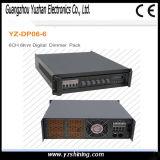 Stage Light DMX512 Control 6 Channel 6kw Digital Dimmer Pack