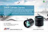 "Swir Lens 25mm 35mm 50mm C Mount Lens 1"" Format Manual Iris Fixed Lens"
