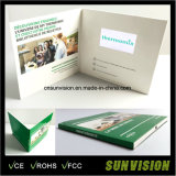 Promotional Bespoke 4.3 Inch Invitation LCD Video Greeting Cards