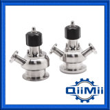 Sanitary Stainless Steel Aseptic Germfree Sampling Valve Ss316L