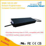 500W 14A 24~36V Outdoor Programmable Dimmable Constant Current LED Driver