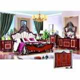 Home Furniture with King Bed and Wardrobe and Cabinet (W811A)