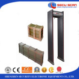 6 zones Walk Through Metal Detector AT-300A waether-proof metal detector