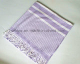 Promition Woven Striped Hammam Towel / Turkey Towel (HWBC053)