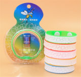 Fashion Mosquitos Repellent Wristband Bangle Silicone Anti Mosquito Bracelet