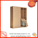 Shop Wooden Clothes Display Cabinet