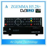 Smart DVB-S2+DVB-S2X/T2/C Triple Tuners Zgemma H5.2s Plus Dual Core Multistream H. 265 Satellite/Cable Tuners