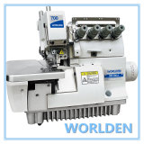 Wd-700-4 Super Four Thread High Speed Elastic Overlock Sewing Machine