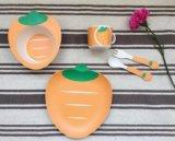 BPA Free Eco Bamboo Fiber Kitchenware Kids Dinnerware Set (YK-KS0091)