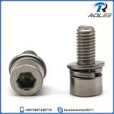 304/316 Stainless Steel Socket Head Sems Machine Screw