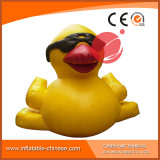 Commercial Inflatable Yellow Duck Mascot for Outdoor Advertising (C1-407)