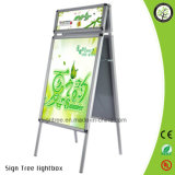 Display A1 A2 Double Sides Aluminum Poster Stand Advertising Rack