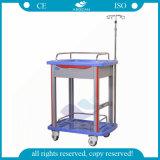 AG-Lpt006b Luxurious Medical Cart ABS Hospital Clinical Trolley