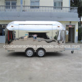Professional Design Stainless Steel Mobile Fast Food Carts (SHJ-MBT4000)