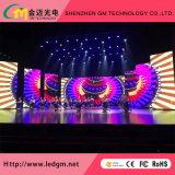 Light/Slim Full Color SMD2121 Indooor Rental P4.81 LED Display Screen