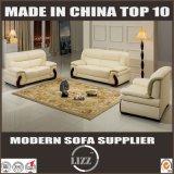 Foshan Solid Wood Italian Leather Office Sofa