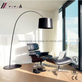 E27 Colorful Steel Fish Floor Lamp for Hotel Project
