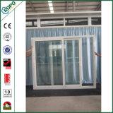 Double Pane Plastic Impact Resistant Sliding Door Outward Opening