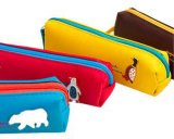User-Friendly Neoprene Pencil Sleeve for Organizing Stationery