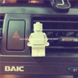 White Robot Scented Ceramic Car Aroma Diffuser (AM-140)