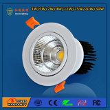 High Brightness Aluminum 15W LED Spot Light for Meeting Room