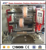 Vertical Type PLC Controlling Slitting Rewinding Machine for PE Film Roll (DC-FQV)