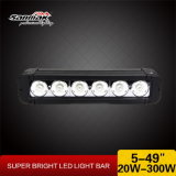 High Power 10W Single LED Light Bar for 4X4 Trucks