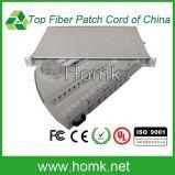 19′′ 1u/2u/4u Sc/LC/St/FC 24 Port Patch Panel