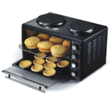 Mini Electric Oven with Hotplate Toaster Oven with CE