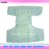 PE Film Backsheet and PP Tapes Adult Diaper with Leakguards