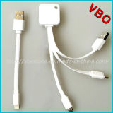Brand New 3 in 1 Universal USB Mobile Data Charging Cable with Mfi Certified