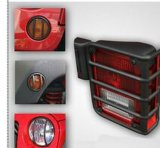 Car Accessories for Jeep Steel Black Light Guard