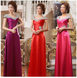 Long Bridesmaid Prom Evening Party Dresses Asmy002
