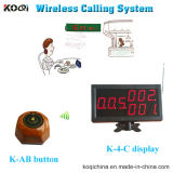 Wireless Calling Pager System for Restaurant with CE 433MHz
