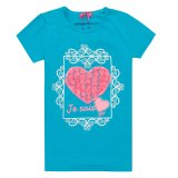 New Product Quality First Kids Tshirts with Rose Design (TS067W)