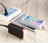 Universal Multi 5 Ports USB Charger with CE RoHS