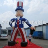 15FT Inflatable American Uncle Same Character Model