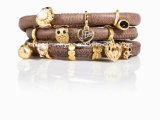 Fashion Charm Leather Bracelet Jewellery