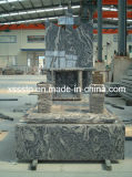 China Juparana Granite Tombstone and Monument