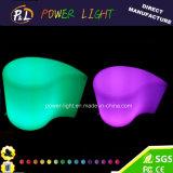 Illuminated LED Furniture Glowing Plastic LED Bar Stool